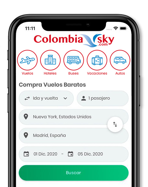 App ColombiaSky